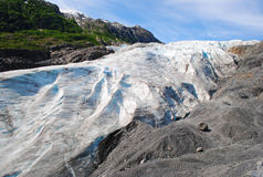 Exit Glacier Seward royalty free stock image