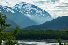 Exit Glacier in Seward, Alaska. Stock Photos