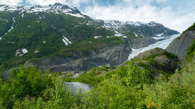 Exit Glacier in Seward, Alaska. Stock Images