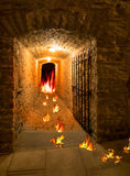 Exit from Hell. The Gateway is open. Stock Image
