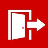 Exit icon. Vector clip art stock illustration