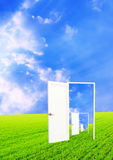 Exit in the infinity Royalty Free Stock Images