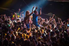 EXIT music festival 2015 Royalty Free Stock Image