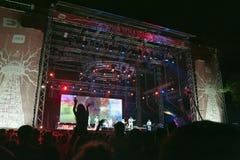 Exit Music Festival Novi Sad Serbia royalty free stock photography
