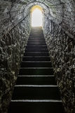 Exit scale. Of fort of first world war royalty free stock image