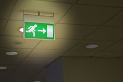 Free Exit Sign Royalty Free Stock Photo - 20964505