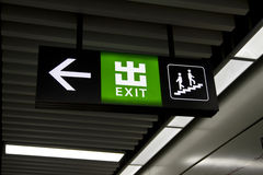 Free Exit Sign Stock Images - 27360734