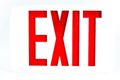 Free Exit Sign Royalty Free Stock Photography - 7659757