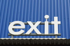 Exit Stock Images