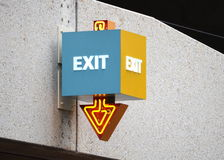 EXIT Stock Photography
