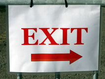 Exit Stage Right Royalty Free Stock Image