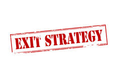 Exit strategy Royalty Free Stock Images