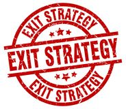 exit strategy stamp stock illustration