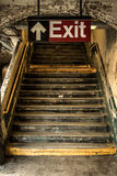 Exit from the  subway Stock Photos