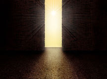 Exit to the Light Royalty Free Stock Photography