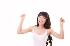 Free Exited, Happy, Smiling Woman Looking At You Or Camera Stock Photos - 50881033
