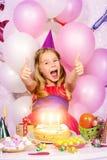 Exiting celebration Royalty Free Stock Image