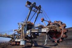 Exkavator Stockbild