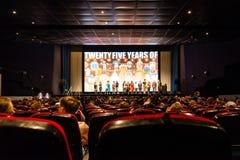 Exklusiv filmpresentation Royaltyfri Foto