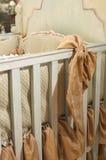 exklusiv sängkläderlinnelyx Arkivfoton