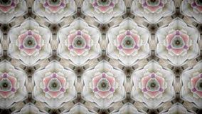 Exklusive Blumentapete des abstrakten rosa Goldluxus Stockbild