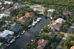 Exklusive Häuser Lizenzfreie Stockbilder