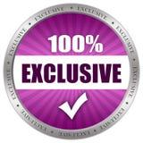 Exklusive Ikone Lizenzfreie Stockfotos