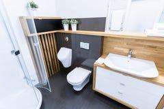 Exklusivt badrum Arkivfoto