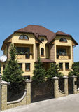Exklusivt hus Arkivfoto