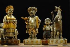 Exklusivt nationellt schack Arkivbilder
