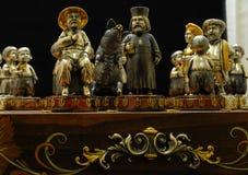 Exklusivt nationellt schack Royaltyfria Foton