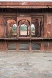 Exkursion zum roten Fort Stockfoto