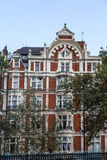 Exlusive London Flats. Luxury Flats in London Built in 1889 Royalty Free Stock Images