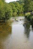 Exmoor河 免版税库存图片