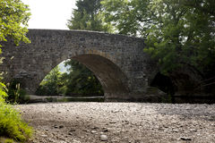Exmoor bridge. Bridge over the river Exe on Exmoor,Somerset Royalty Free Stock Image