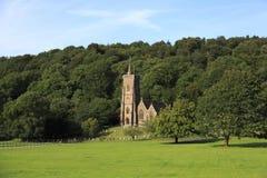 Exmoor church, UK Royalty Free Stock Photography