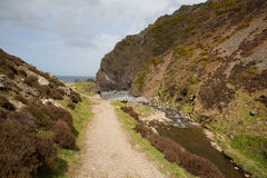 Exmoor National Park Heddon Valley Devon England Royalty Free Stock Images