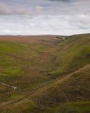 exmoor rzeki dolina Zdjęcia Stock