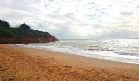 Free Exmouth Beach On The Coast Of Devon , Uk Royalty Free Stock Image - 160127306