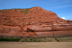 Exmouth cliffs and beach Royalty Free Stock Photos