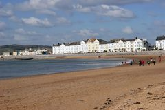 Exmouth, Devon. Photographie stock