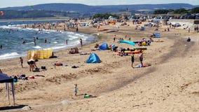 Exmouth in Devon England Juli 2018 stockfoto