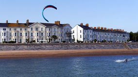 Exmouth Devon. The seafront of Exmouth in East Devon South West England #Exmouth Stock Images