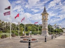 Exmouth Devon UK Jubilee Clock Tower Stock Images