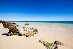 Exmouth i Westaustralia Arkivfoto