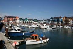 Exmouth marina Stock Photography