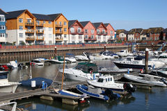 Exmouth marina Royalty Free Stock Image