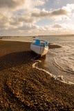 Exmouth Marina. Boat on the shoreline of Exmouth marina Royalty Free Stock Photography