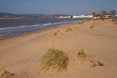 Exmouth beach Devon England Royalty Free Stock Images