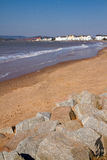Exmouth beach Devon England Royalty Free Stock Image